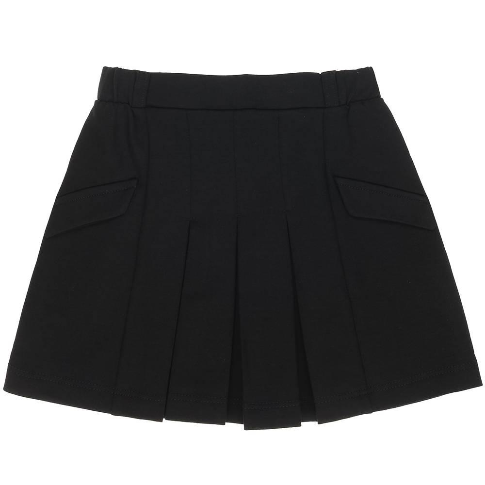 Юбка для девочки Kids Couture школьный черный 7171490232