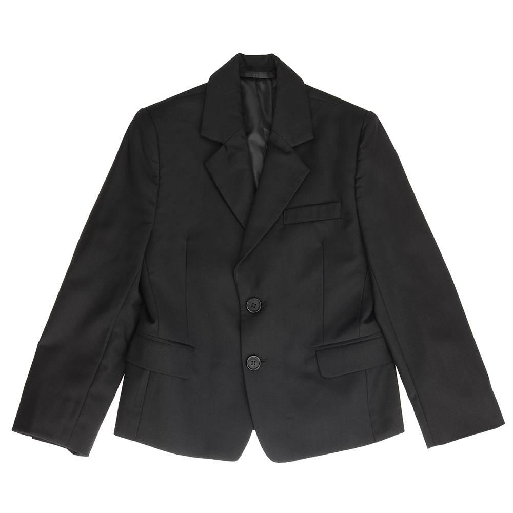 Пиджак для мальчика Kids Couture школьный чорный 717116003