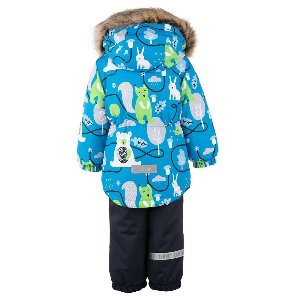 Комплект для мальчика LENNE зимний куртка полукомбинезон FOREST 20315