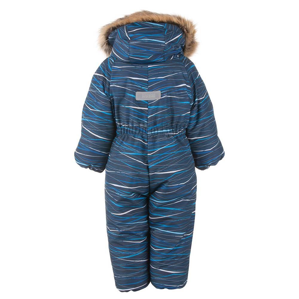 Комбинезон для мальчика LENNE зимний цельный капюшон и опушка съемный ZOO 20306