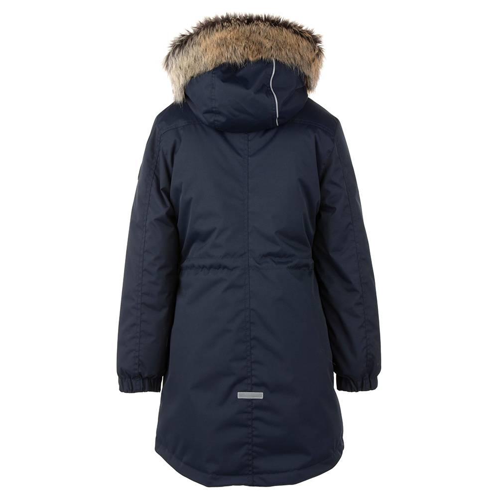 Парка для девочки LENNE куртка зимняя капюшон ткань Aktive PLUS POLLY 20359