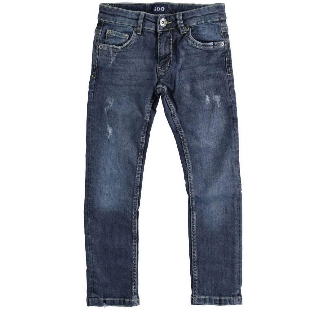 Джинсы для мальчика iDO зауженные выбеленные 4.1750.00/7775
