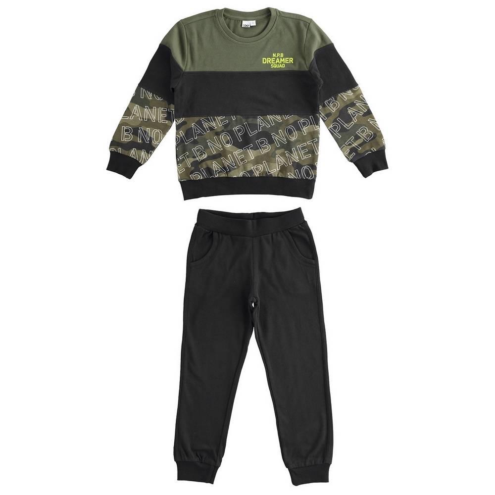 Комплект для мальчика iDO подросток спортивный трикотажный свитшот штаны 4.1784.00/0658