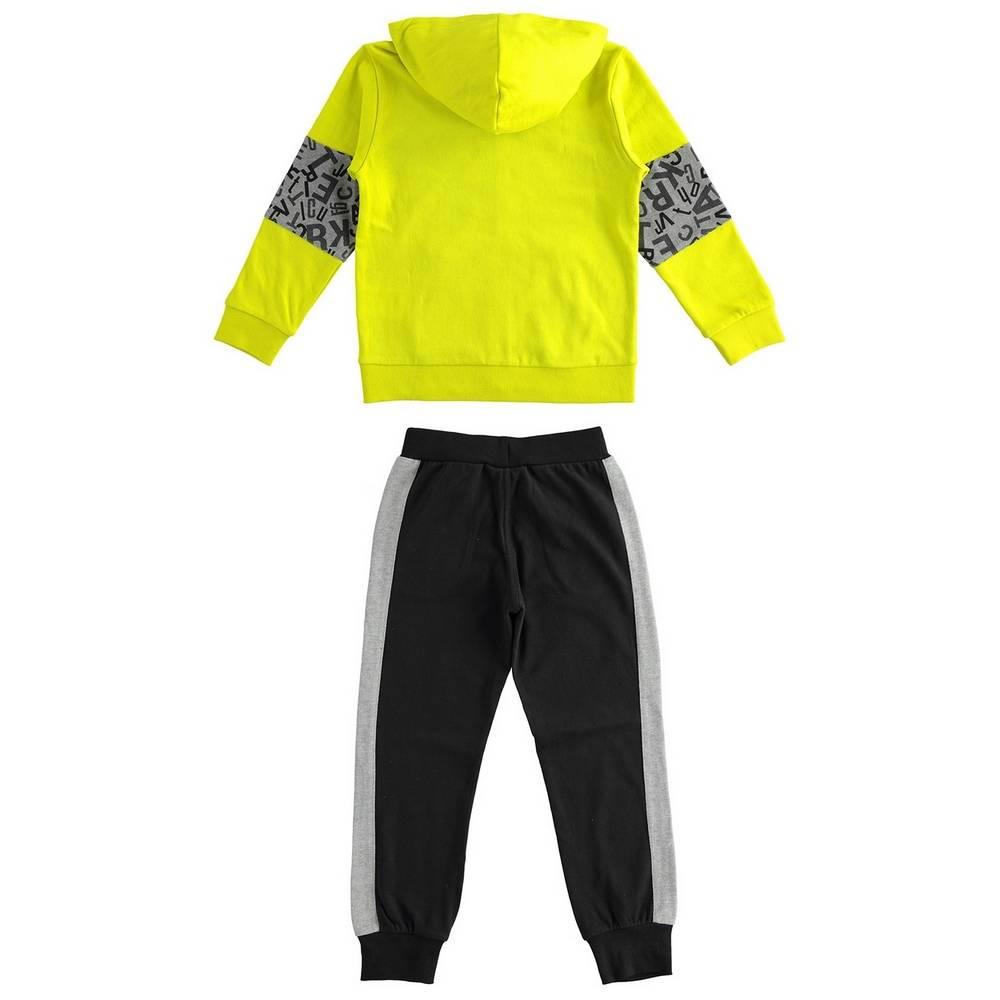 Комплект для мальчика iDO подросток спортивный трикотажный толстовка штаны 4.1786.00/5243