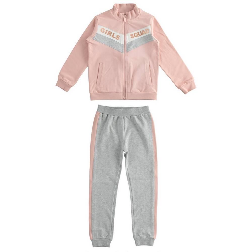 Комплект для девочки iDO подросток толстовка штаны трикотаж 4.1389.00/2513