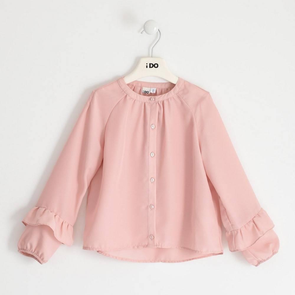 Блуза для девочки iDO подросток декорирована рюшами 4.1913.00/2513
