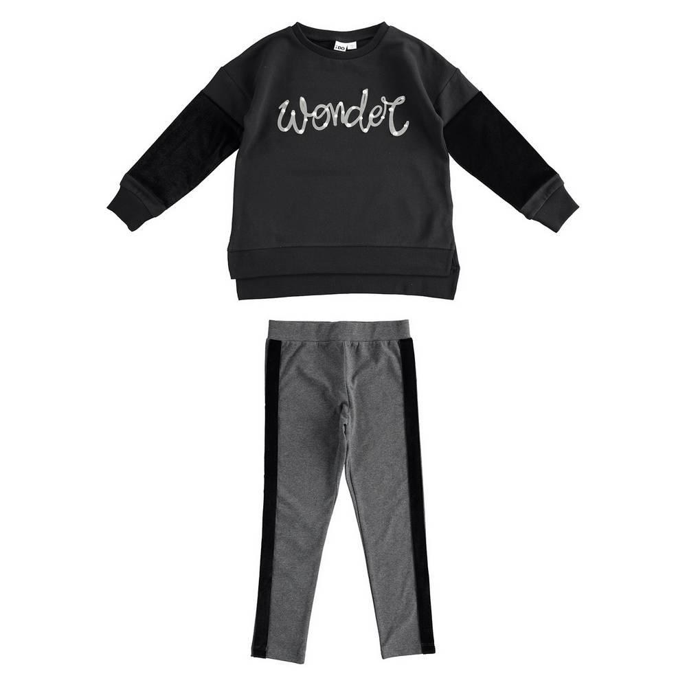 Комплект костюм для девочки iDO подростка трикотаж реглан леггинсы 4.1993.00/0658