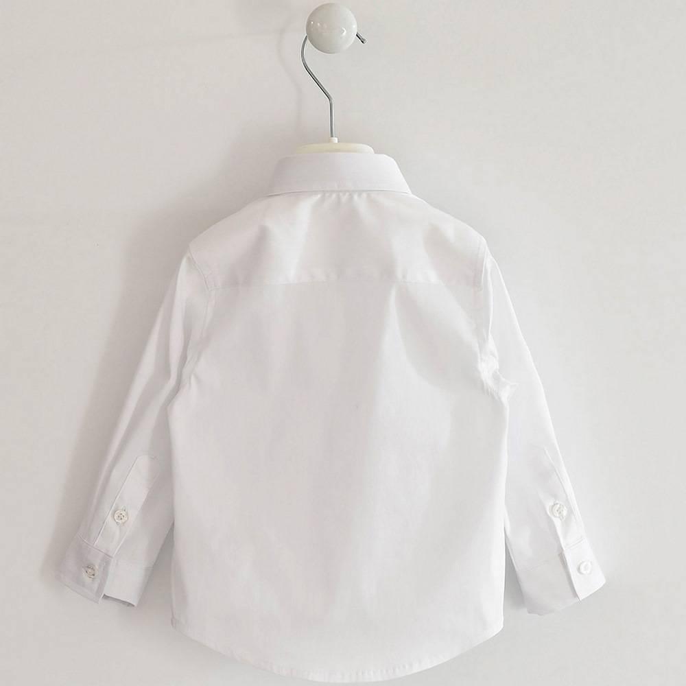 Рубашка для мальчика iDO классика белая 4.1401.00/0113