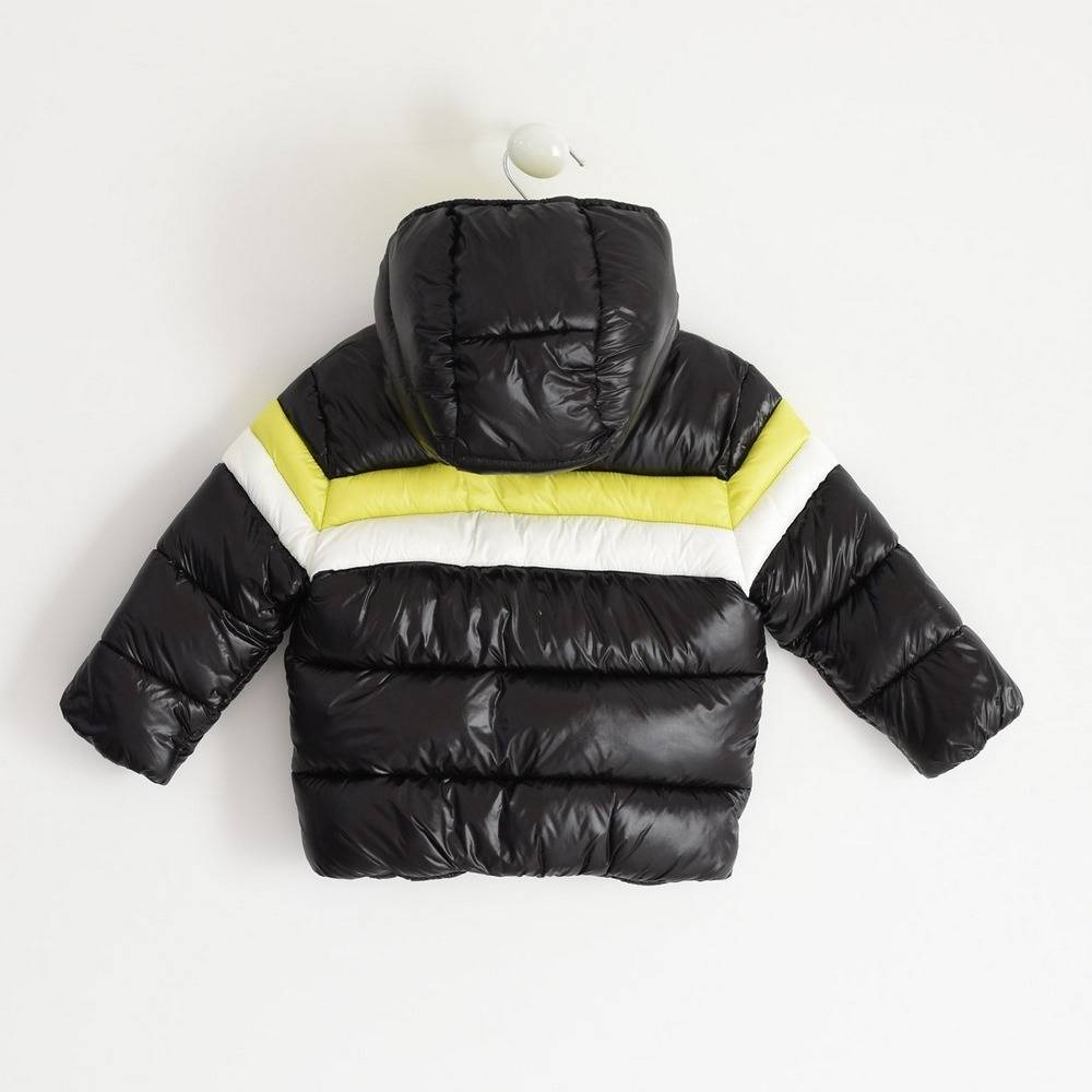 Куртка для мальчика iDO демисезонная утепленная стеганая с капюшоном 4.1482.00/0658