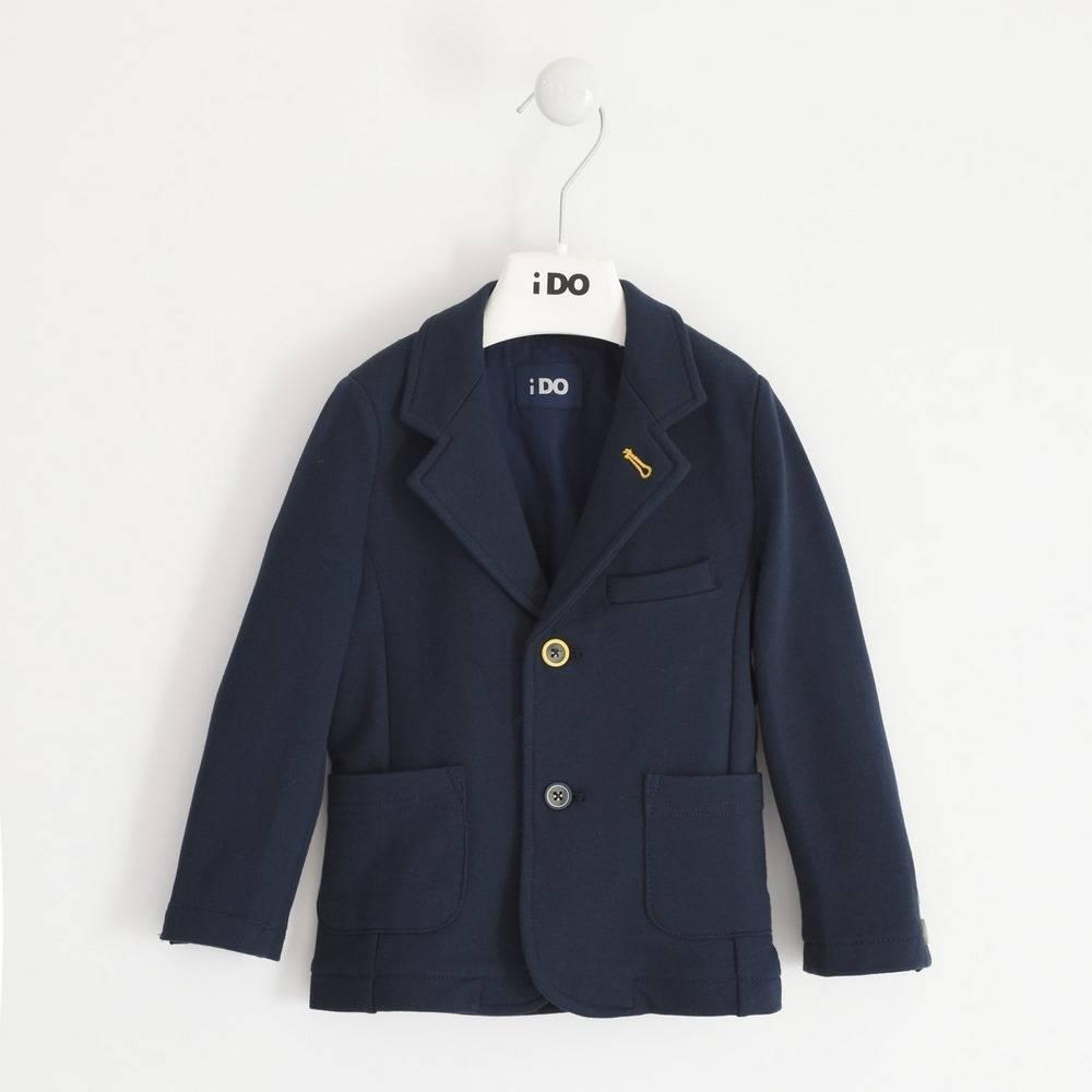 Пиджак для мальчика iDO классический трикотажный 4.1483.00/3885