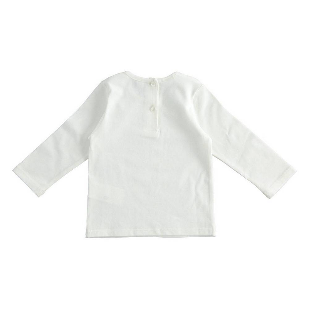Реглан для девочки iDO трикотаж хлопок пайетки 4.1614.00/0112