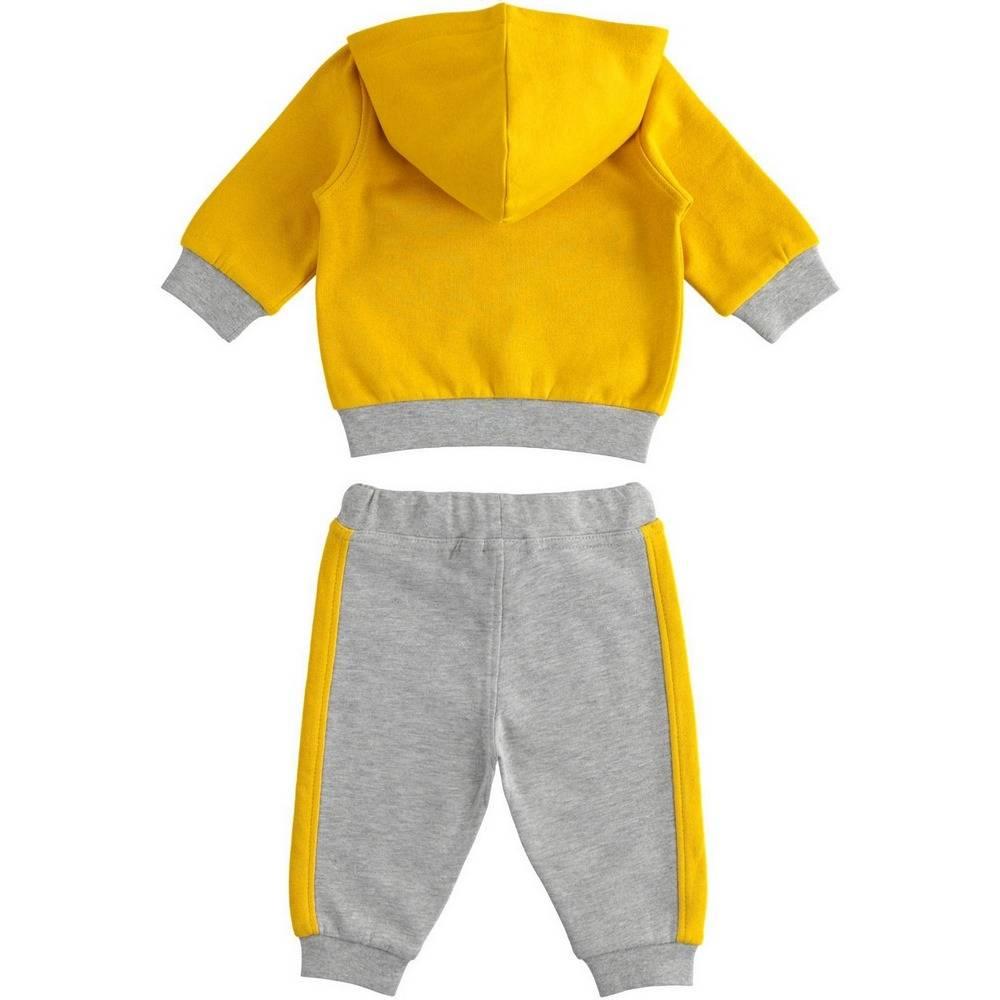 Комплект для мальчика iDO спортивный трикотажный свитшот штаны 4.1155.00/1615