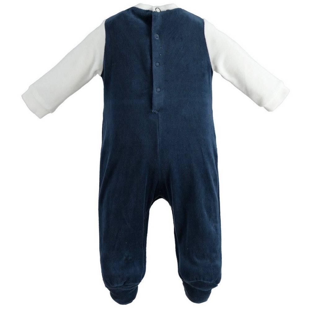 Человечек для мальчика iDO комбинезон принт имитация костюма 4.1163.00/3885