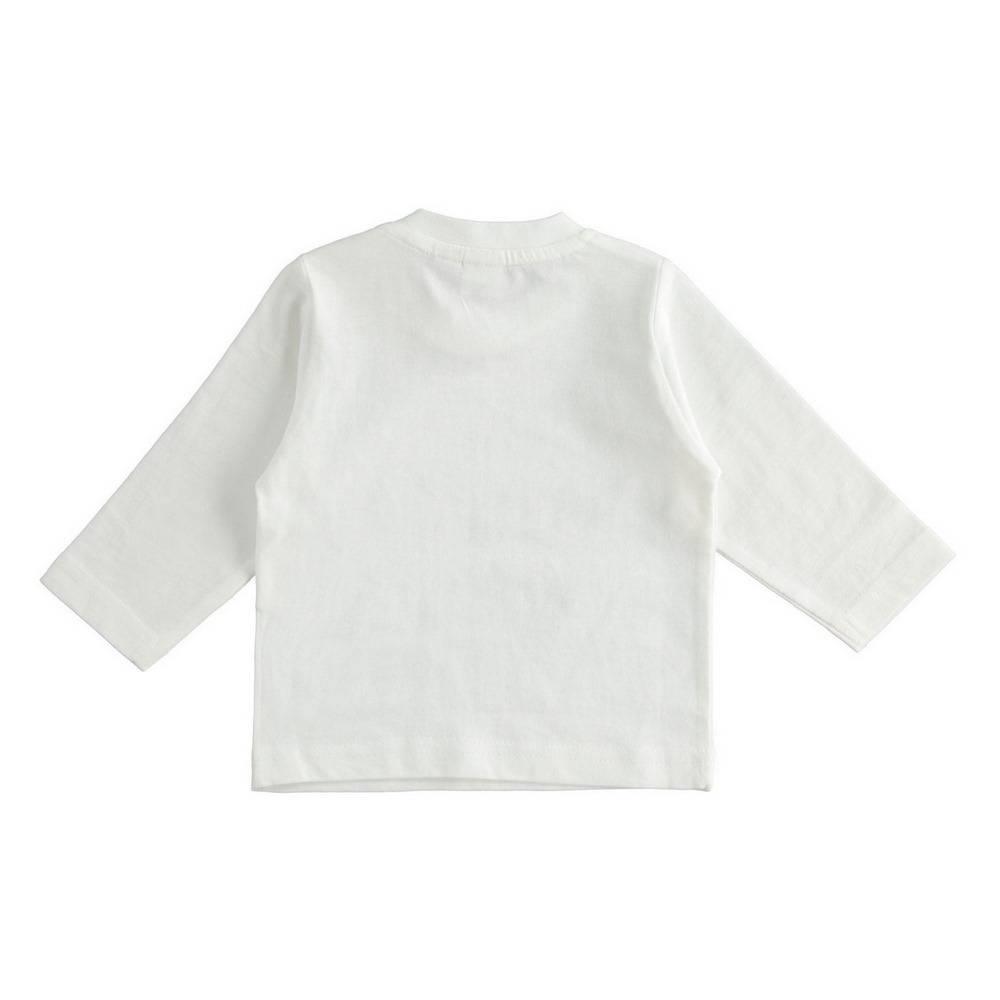 Реглан для мальчика iDO трикотаж хлопок контрастный принт 4.1191.00/8346/3