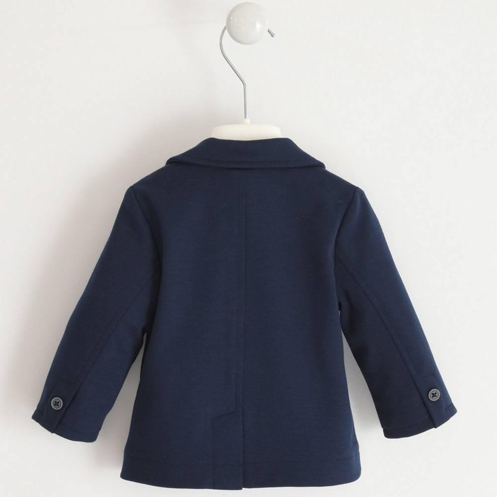 Пиджак для мальчика iDO классический трикотажный 4.1212.00/3885
