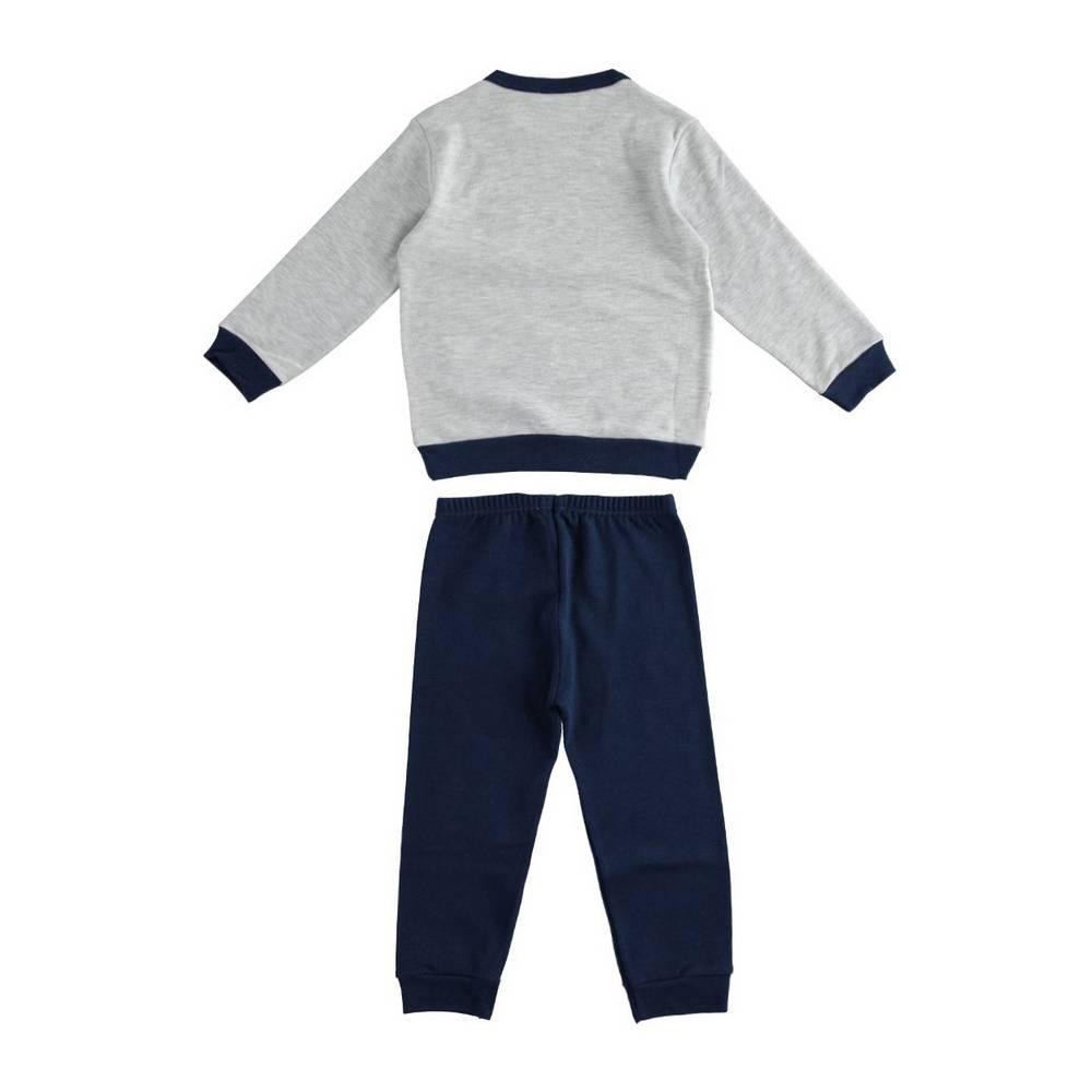 Пижама для мальчика iDO демисезонная хлопок трикотаж принт 4.1554.00/0751