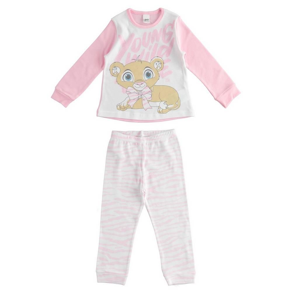 Пижама для девочки iDO демисезонная хлопок трикотаж принт 4.1556.00/1014