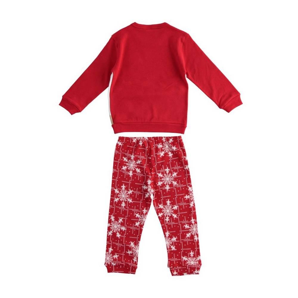 Пижама для девочки iDO демисезонная хлопок трикотаж принт 4.1558.00/2043