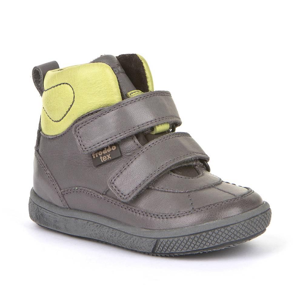 Ботинки для мальчика Froddo демисезонные на липучке FRODDO TEX G2110082-1/Grey