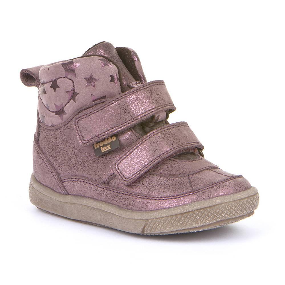 Ботинки для девочки Froddo демисезонные на липучке FRODDO TEX G2110082-2/pink+