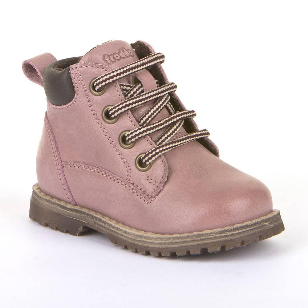 Ботинки для девочки Froddo демисезонные молния натуральная кожа G2110085-6/Pink/20
