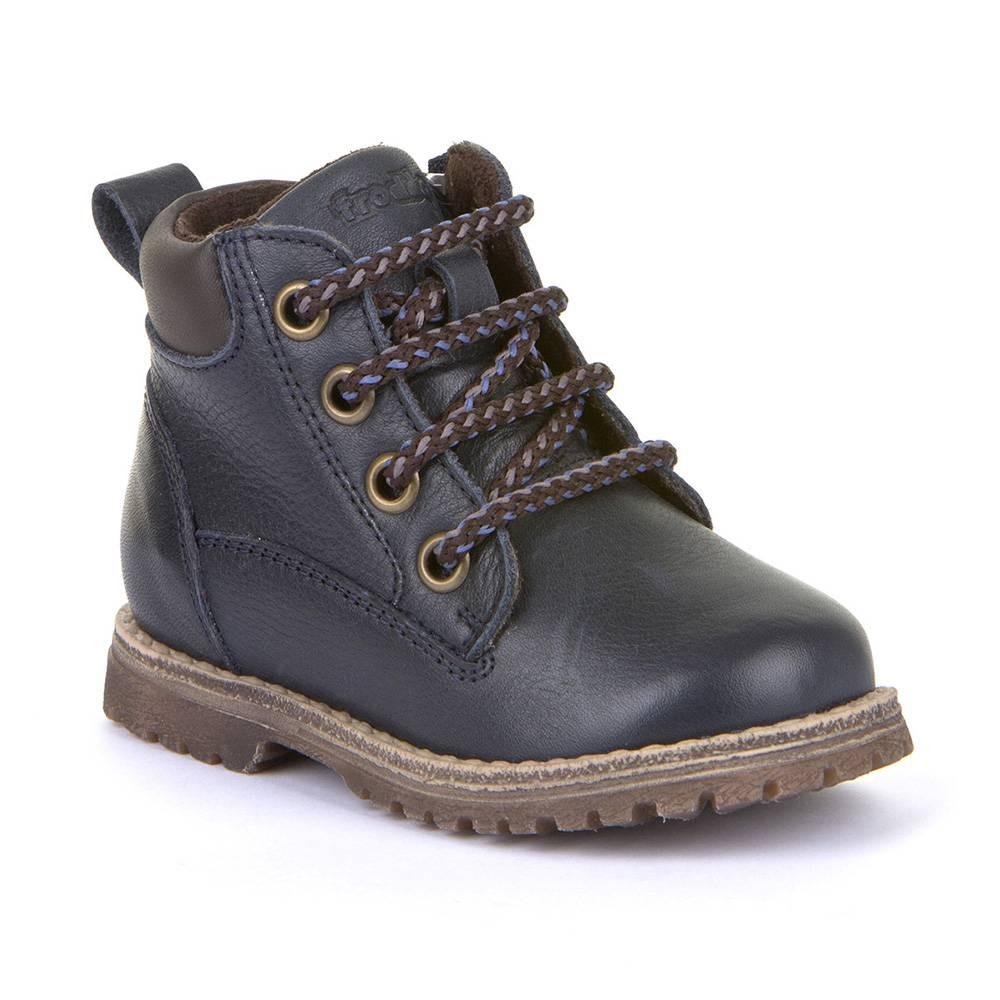 Ботинки для мальчика Froddo демисезонные молния натуральная кожа G2110085-9/DarkBlue