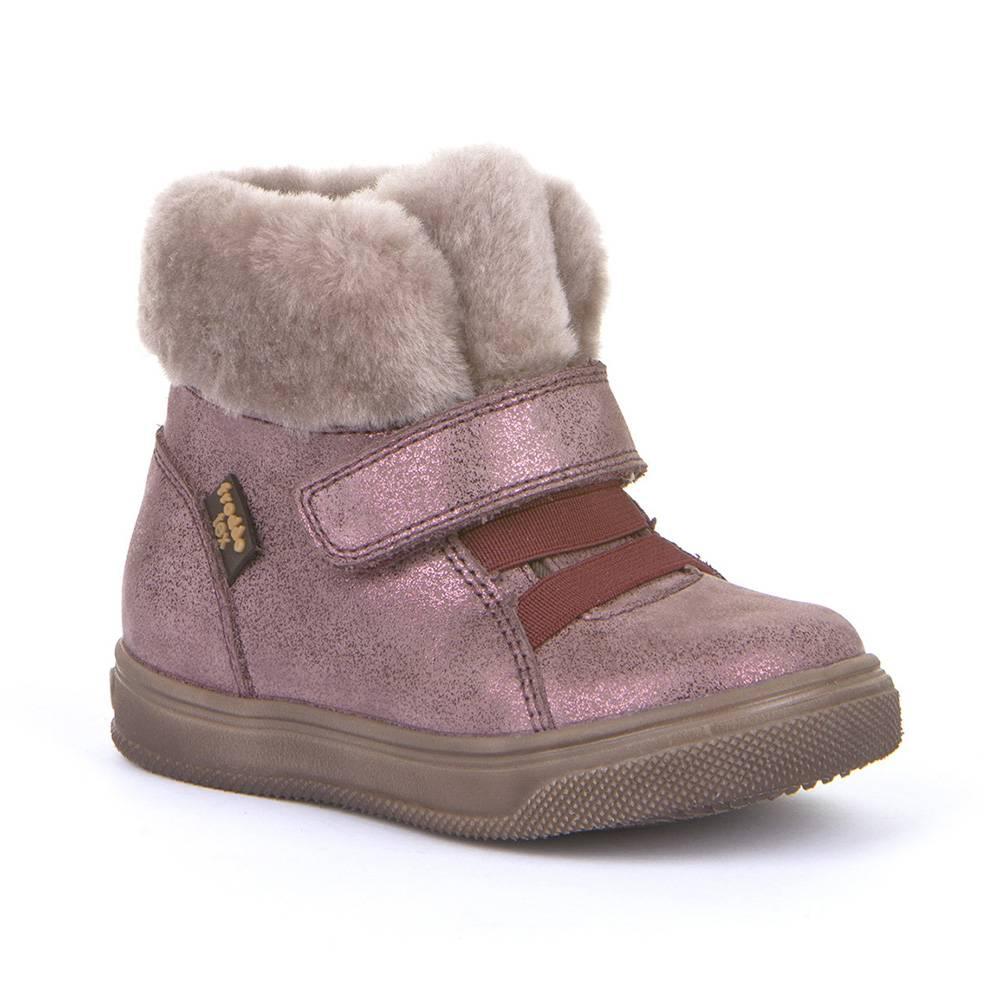 Ботинки для девочки Froddo зимние FRODDO TEX G2110089-5/pink+