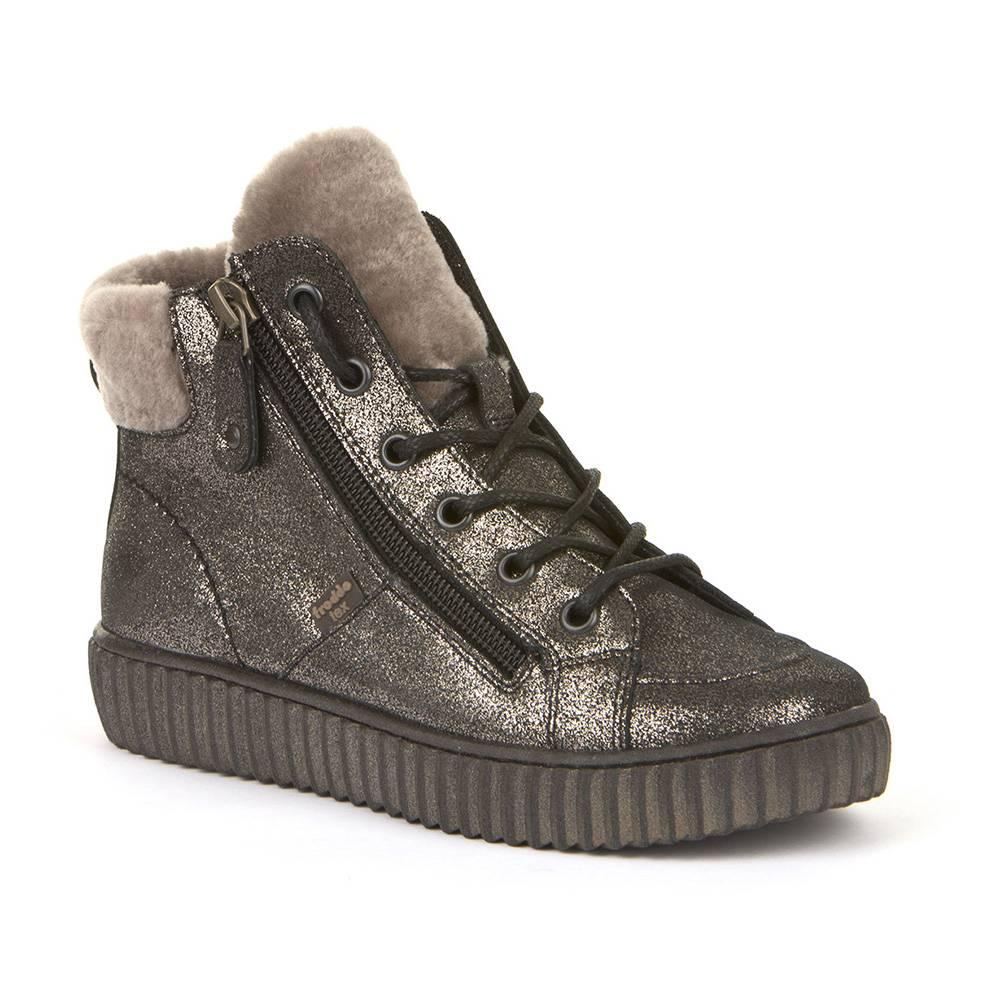 Ботинки для девочки Froddo зимние молния G3110161-3/BRONZE