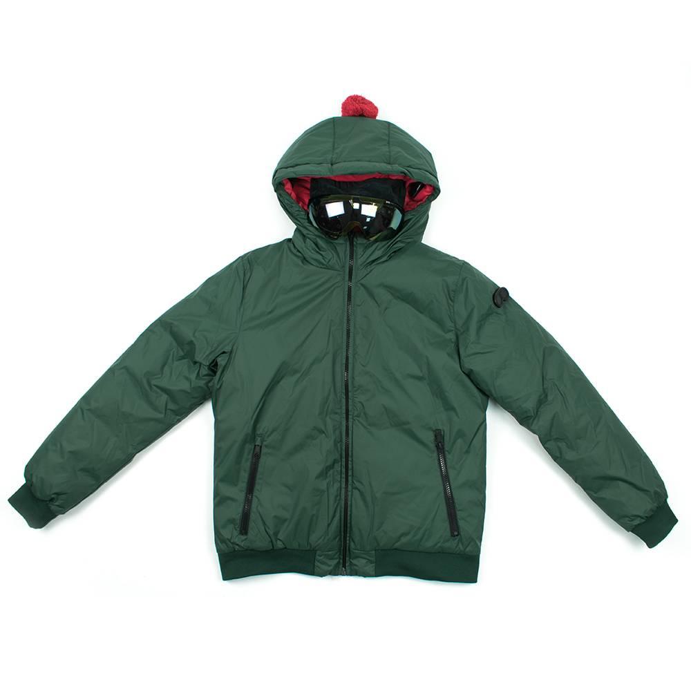 Куртка для мальчика Ai Riders On the Storm зимняя пуховая с капюшоном JK263KTNYL/377_498