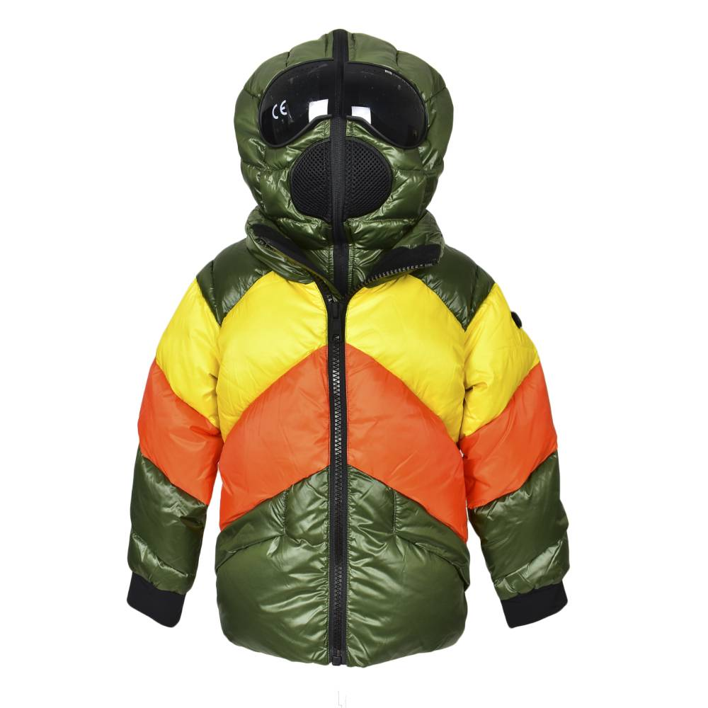 Куртка для мальчика Ai Riders On the Storm зимняя пуховая с капюшоном JK369KTNDC/3940