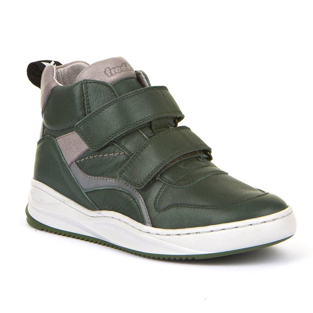 Кроссовки для мальчика Froddo демисезонные натуральна кожа липучки светоотражатели G3110146