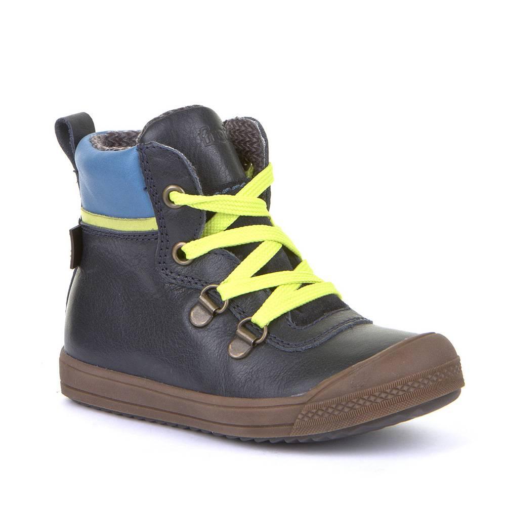 Ботинки для мальчика Froddo демисезонные FRODDO TEX натуральна кожа молния G3110154/DarkBlue