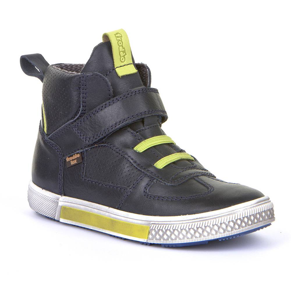 Ботинки для мальчика Froddo демисезонные FRODDO TEX натуральна кожа на липучке G3110150-1/DarkBlue