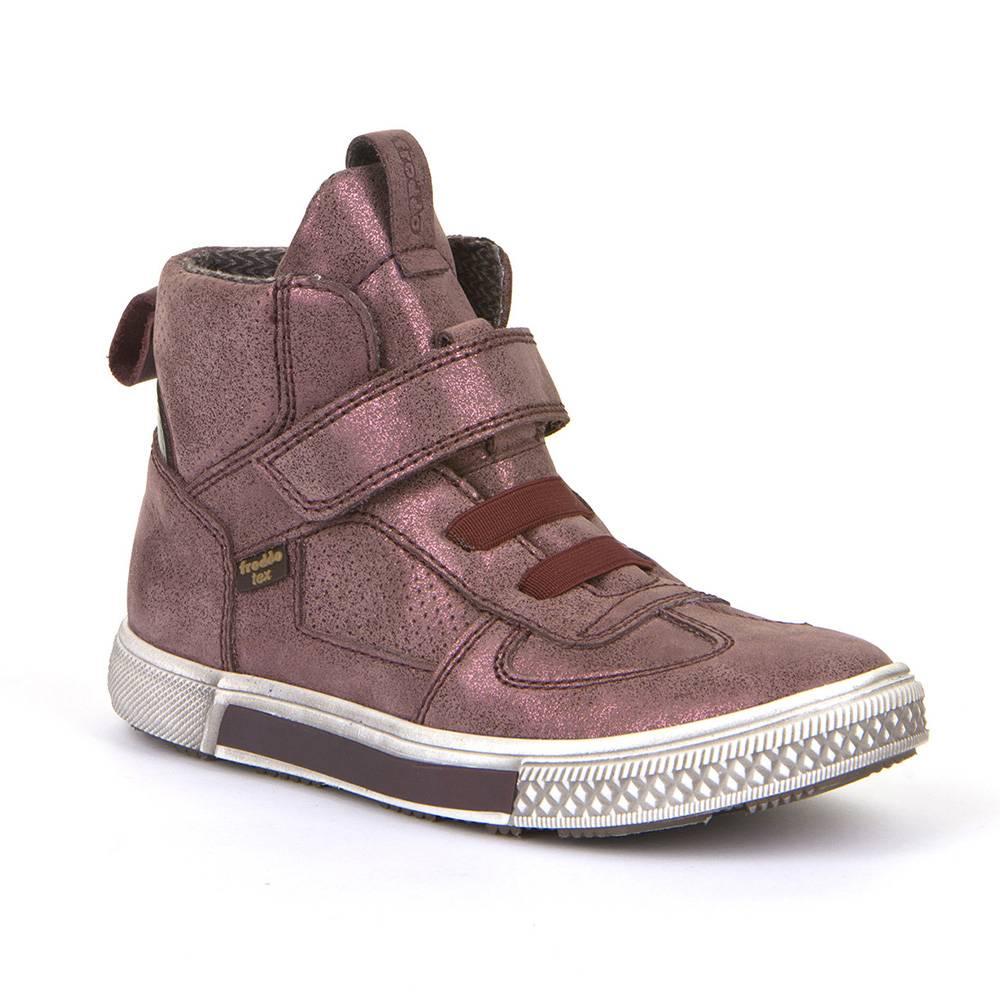 Ботинки для девочки Froddo демисезонные FRODDO TEX натуральна кожа на липучке G3110150-4/pink+