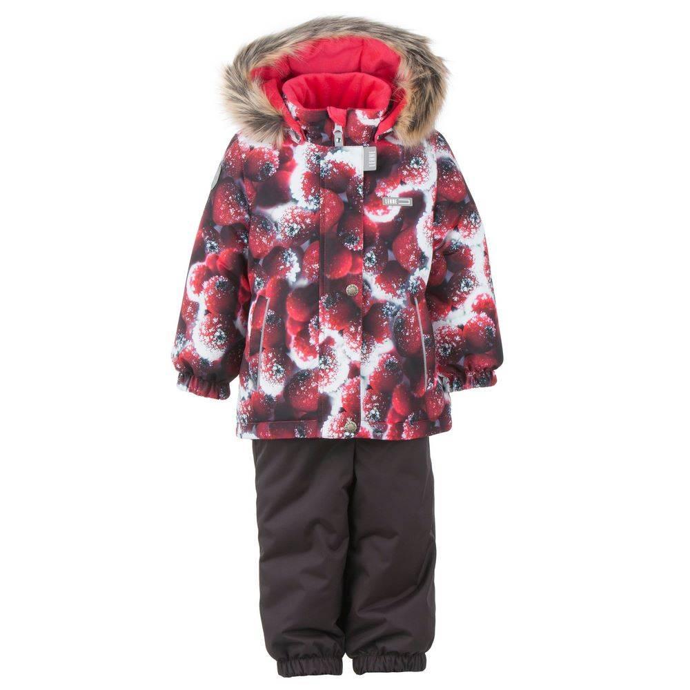 Комплект для девочки LENNE зимний куртка полукомбинезон MINNI 20313
