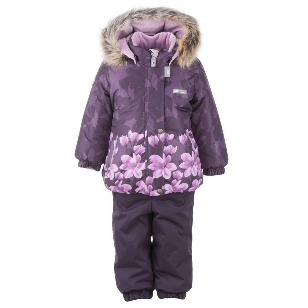 Комплект для девочки LENNE зимний куртка полукомбинезон MIINA 20313A