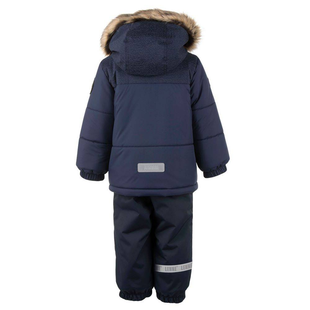Комплект для мальчика LENNE зимний куртка полукомбинезон MORGAN 20317