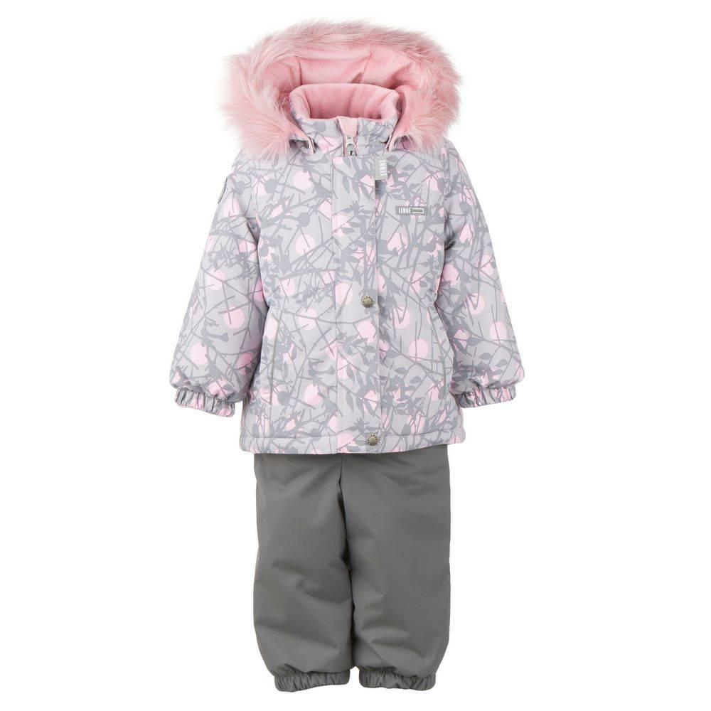 Комплект для девочки LENNE зимний куртка полукомбинезон FLY 20318A