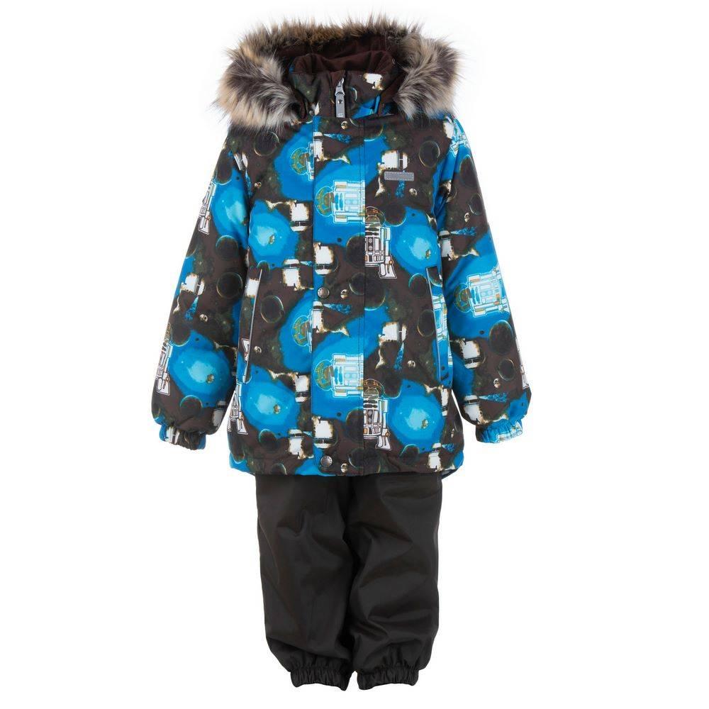 Комплект для мальчика LENNE зимний куртка полукомбинезон RONIN 20320B