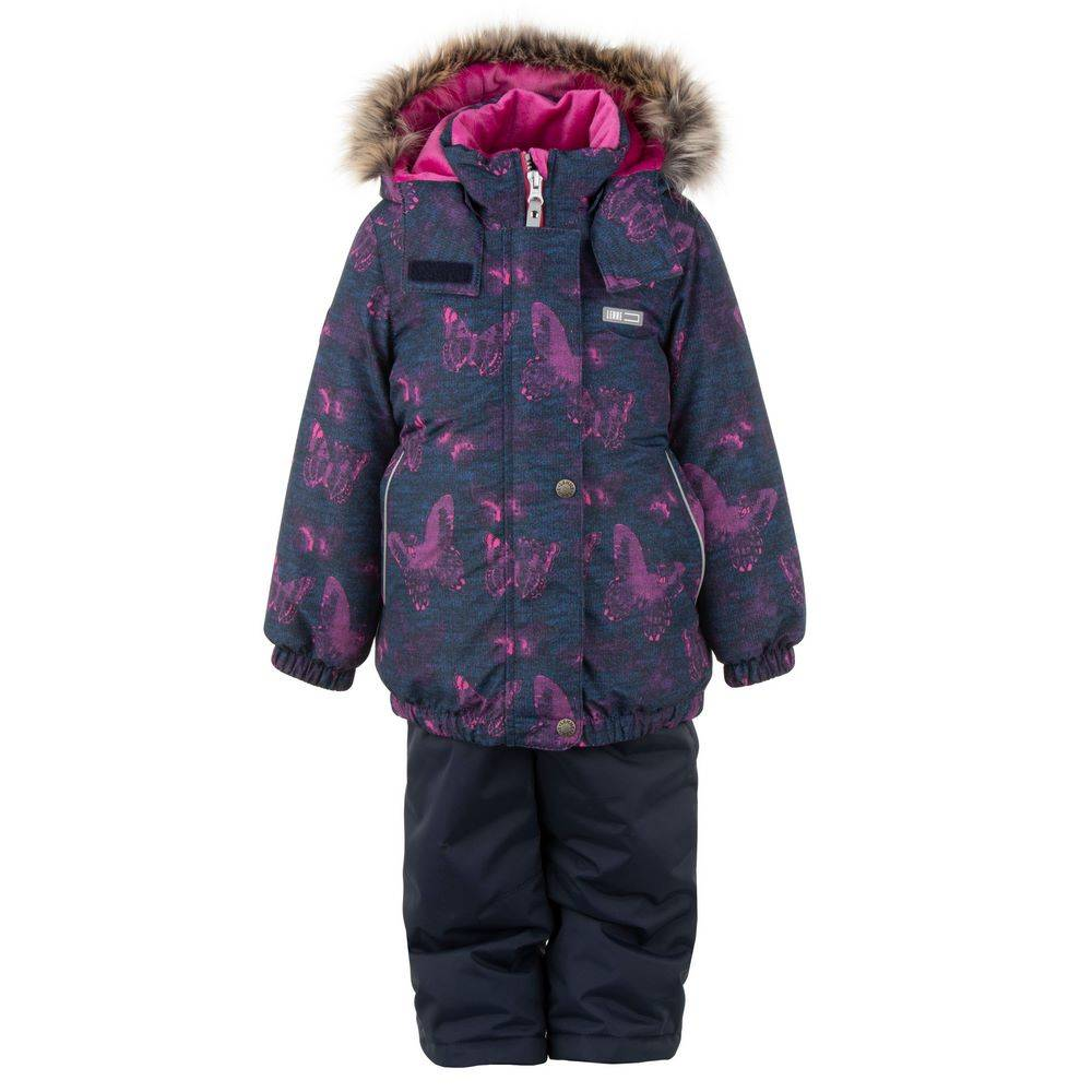 Комплект для девочки LENNE зимний куртка полукомбинезон RIMONA 20320C