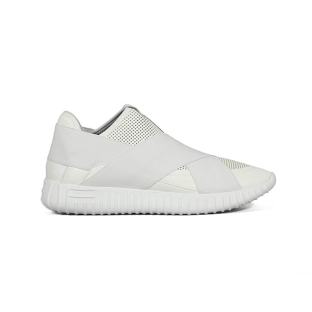 Кроссовки для детские FESSURA демисезонные белые KID020/white