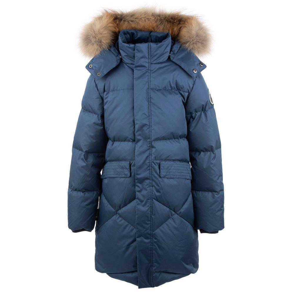 Пальто Пуховик для девочки LENNE зимний капюшон тканину Aqua control ZOE 20535