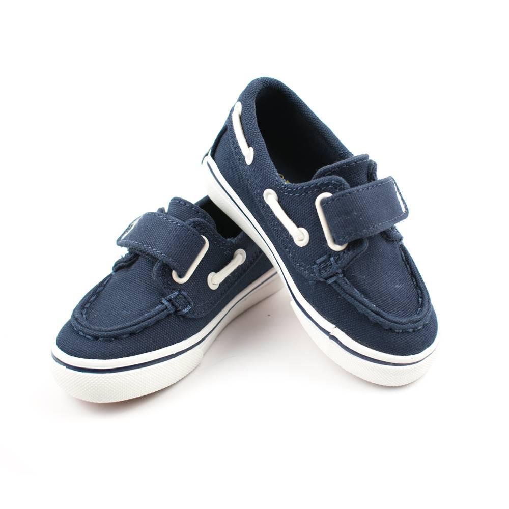 Кроссовки детские POLO мальчики демисезонные синий липучки 993897/NAV