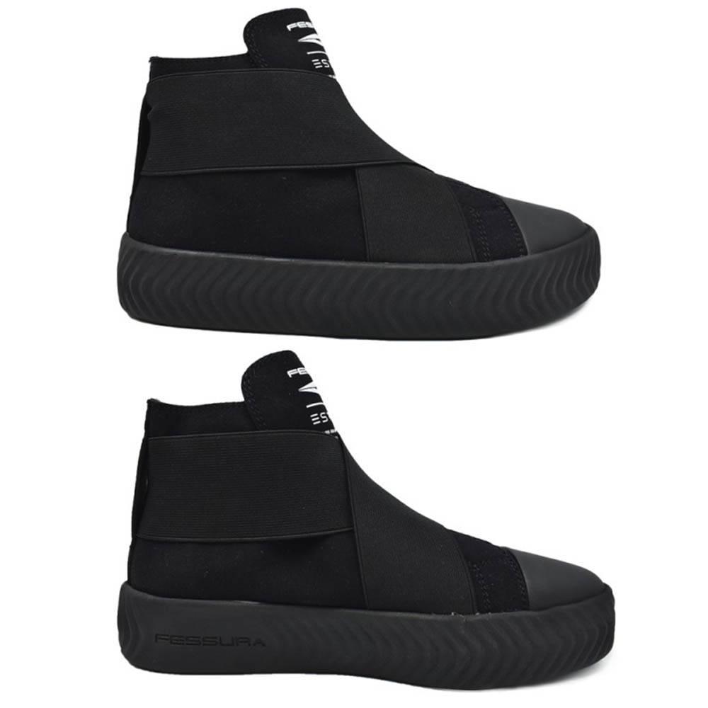 Ботинки детские FESSURA ARROWGANG CROSS демисезонные черный KID052/black