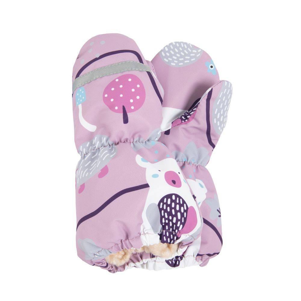Краги детские LENNE зимние подкладка мех ткани ACTIVE 20176