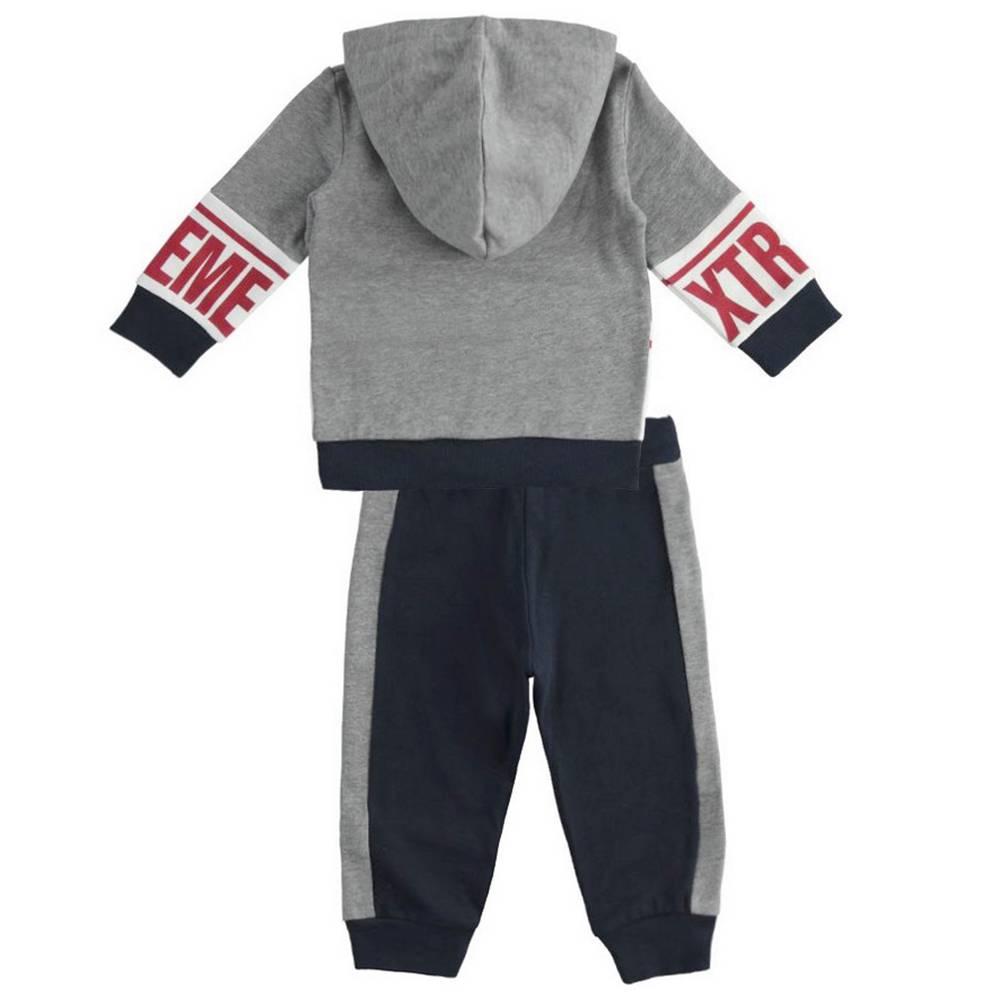 Комплект для мальчика iDO спортивный трикотажный толстовка штаны 4.1494.00/3885