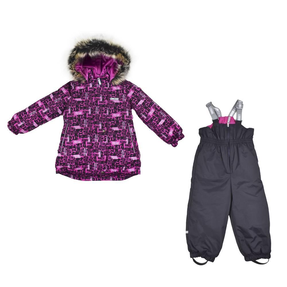 Комплект для девочки LENNE зимний куртка полукомбинезон RIONA 20320A//2630
