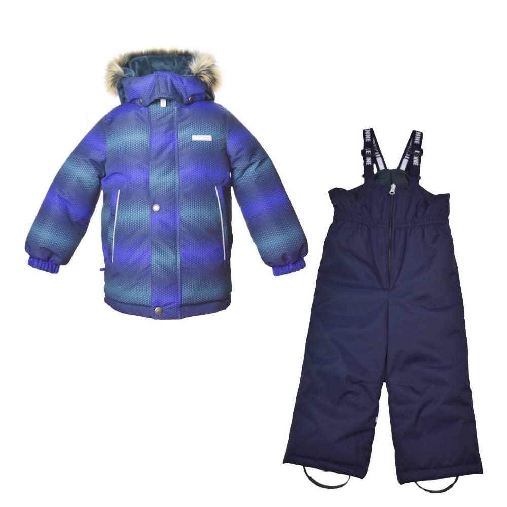 Комплект для мальчика LENNE зимний куртка полукомбинезон RON 20320D