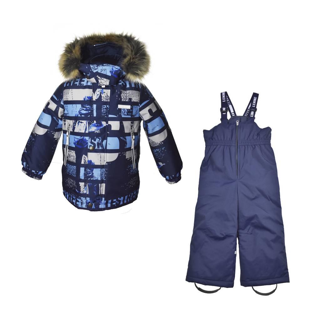 Комплект для мальчика LENNE зимний куртка полукомбинезон ALEXIS 20340