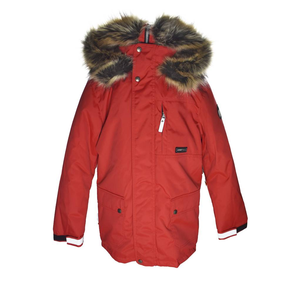 Парка для мальчика LENNE подростка зимняя с капюшоном с опушкой ткань Aсtive PLUS JAKO 20368